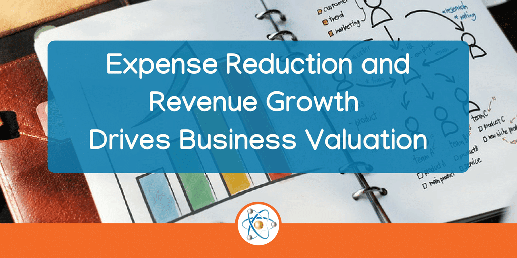Expense Reduction and Revenue Growth Drives Business Valuation